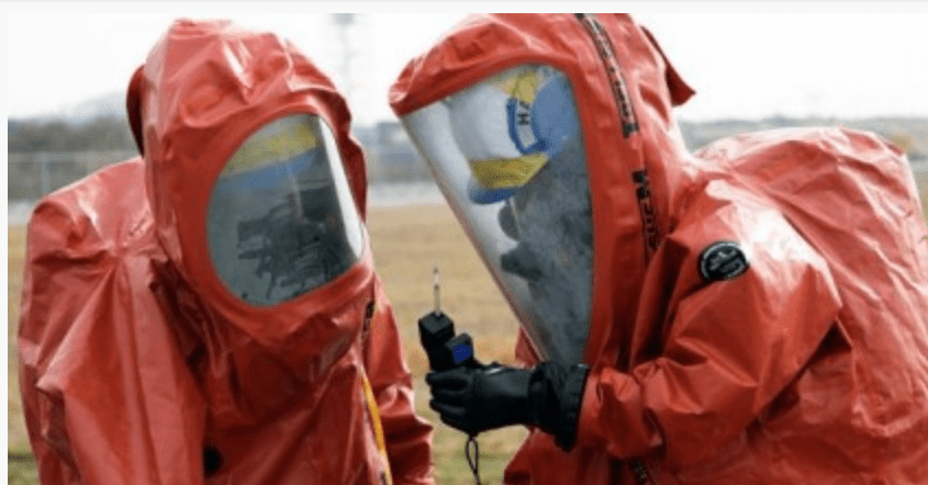 Biosafety level 4 suits