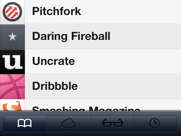 Safari iOS 7 nuova gestione preferiti