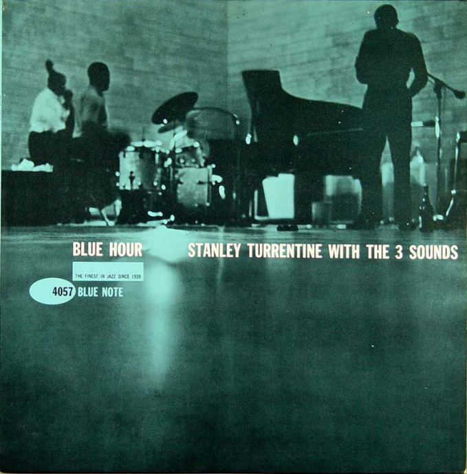 stanley turrentine blue note record cover