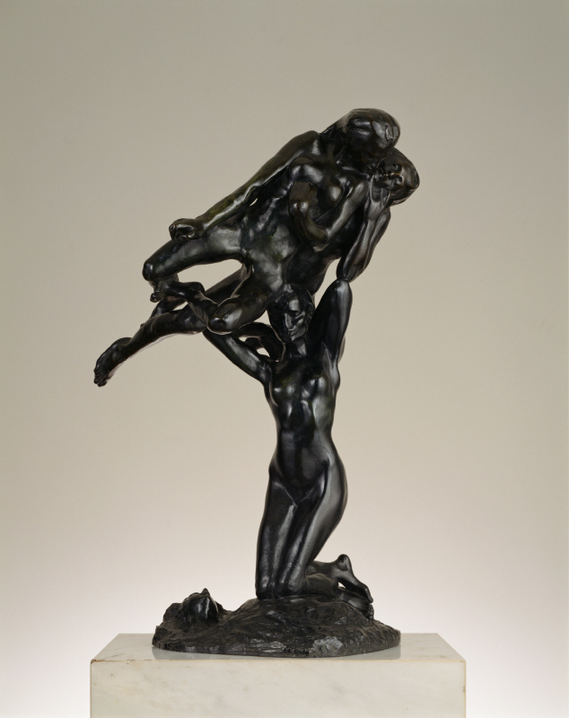 Orpheus and the Maenads - Rodin