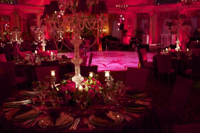 Valentines Day Luxury Wedding Lighting And Decor
