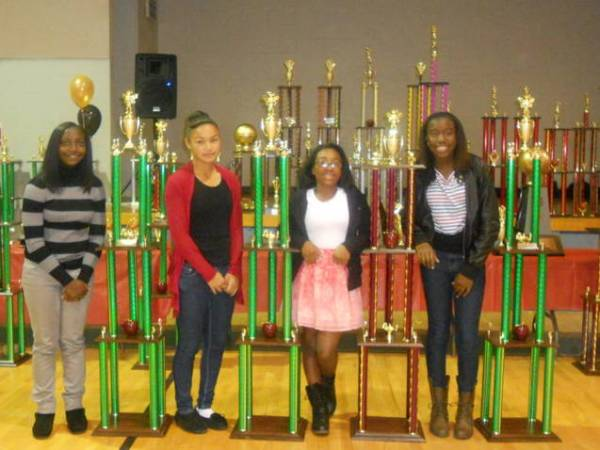 2012 Academic Banquet — GBL Lady Rebels
