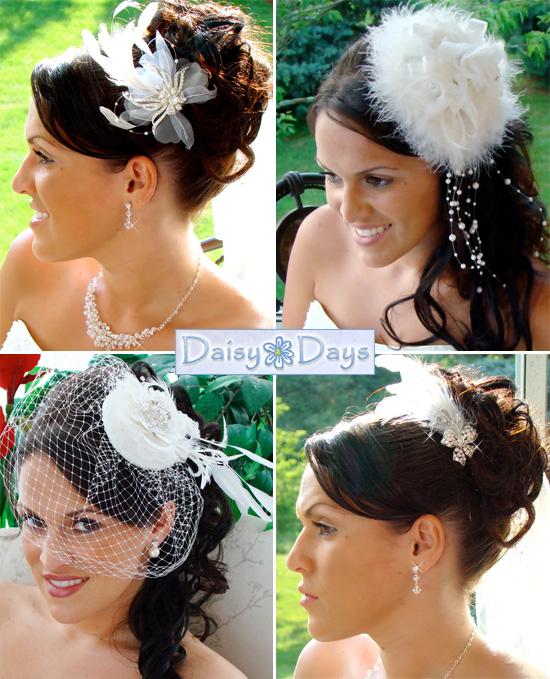 Unique Feather Headpieces And Bridal Headbands