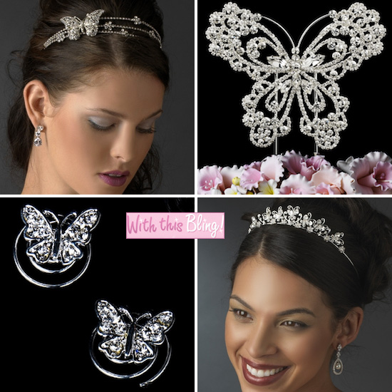 Butterfly Bridal Accessories
