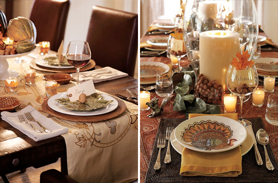Fall Entertaining With Style From Pottery Barn