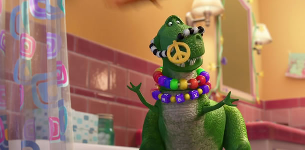 First Clip From New Toy Story Short PARTYSAURUS REX