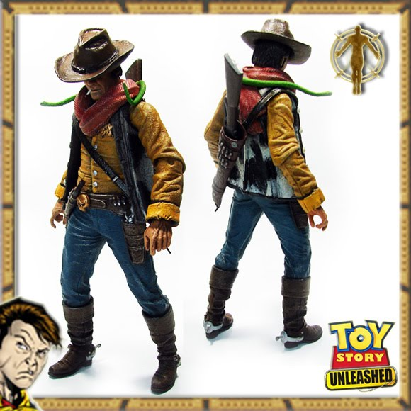 Badass Custom Made TOY STORY Action Figures Buzz