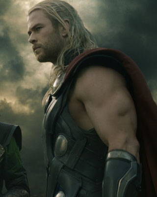 Thor And Loki Fly A Ship In THOR THE DARK WORLD Clip GeekTyrant