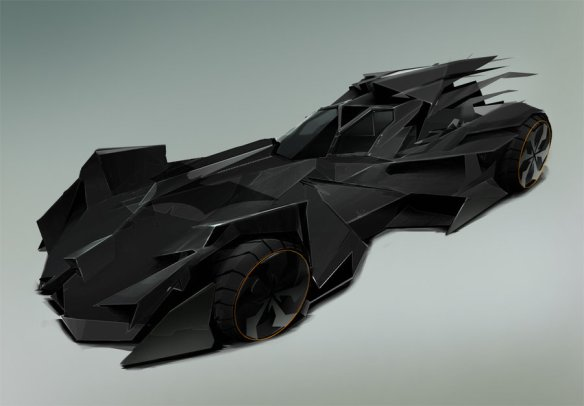 Batmobile by Danny Gardner
