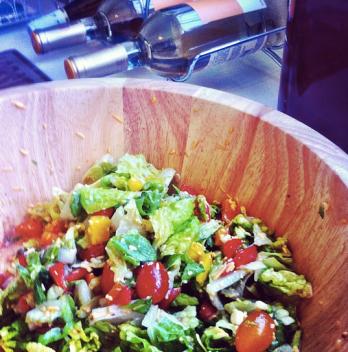 A classic salad by Hilary (via Instagram)