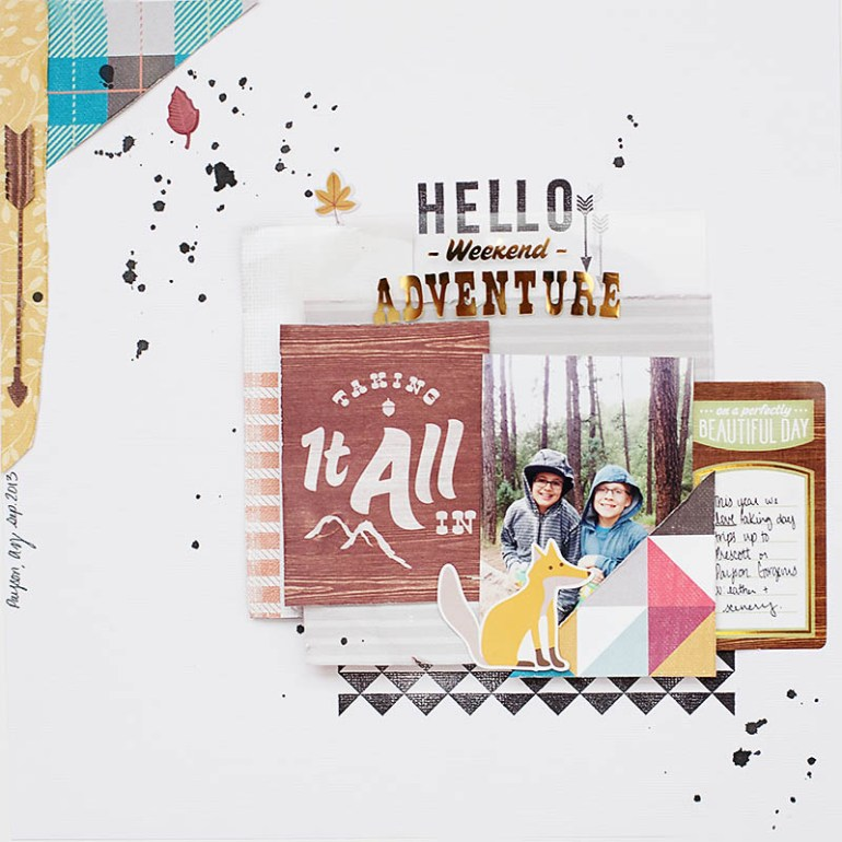 Hello Weekend Adventure by Allison Waken