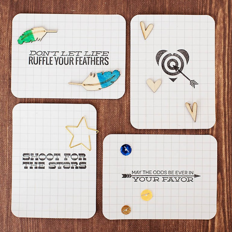 Allison Waken Project Life lunchbox notes