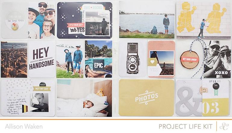 Allison Waken - Project Life - Studio Calico