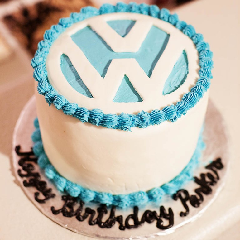 All for the Memories - VW cake