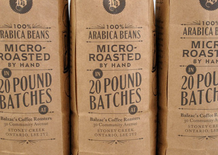 Balzacs Coffee Roasters The Dieline Packaging