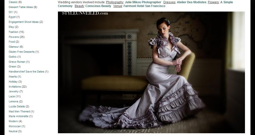 Featured Fairmont Hotel Fashion Shoot On Style Unveiled