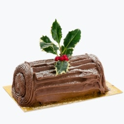 Real Whey Chocolate Yule Log flavour