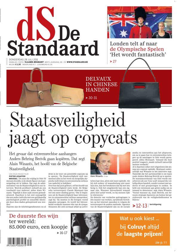 De Standaard groeit met 3,5 procent - De Standaard