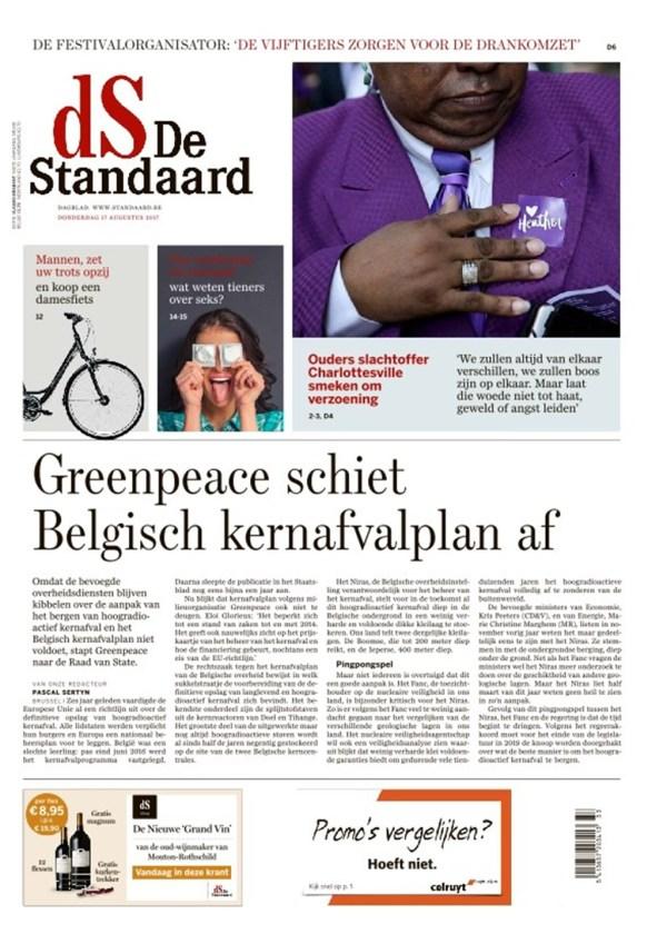 Krant - De Standaard