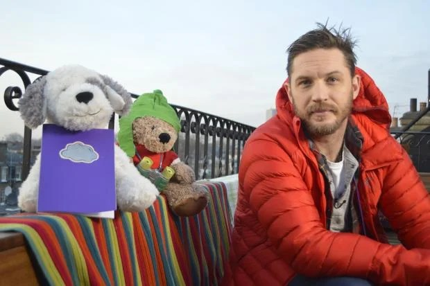 Image result for tom hardy cbeebies bedtime story