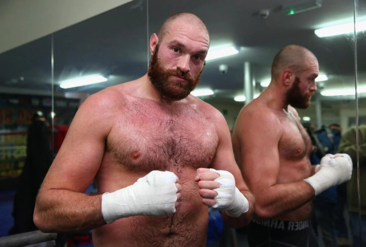 Image result for British boxing board could reinstate Tyson Fury's licence