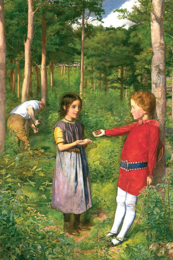 The Woodman's Daughter, by John Everett Millais (Guildhall Art Gallery, City of London )