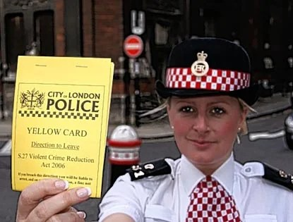 Police Show World Cup Drunks The Yellow Card London Evening Standard