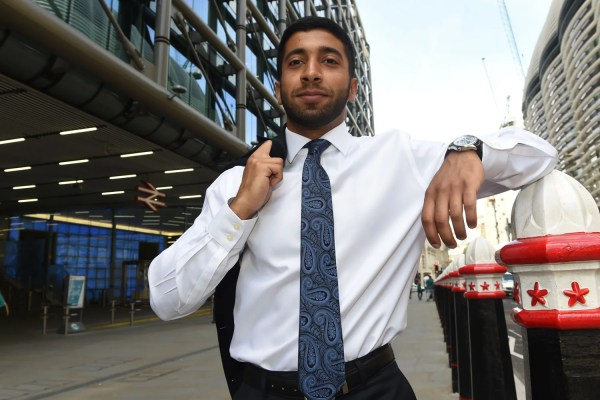 Graduate with market-stall patter wins top job by holding ...