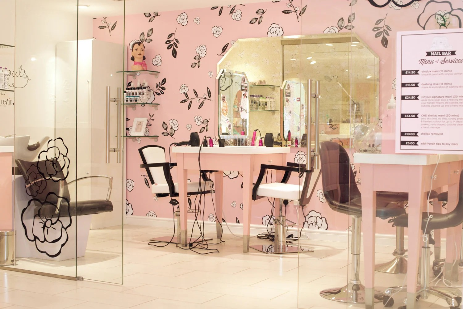 Review Benefit Cosmetics Carnaby Street Boutique Hair