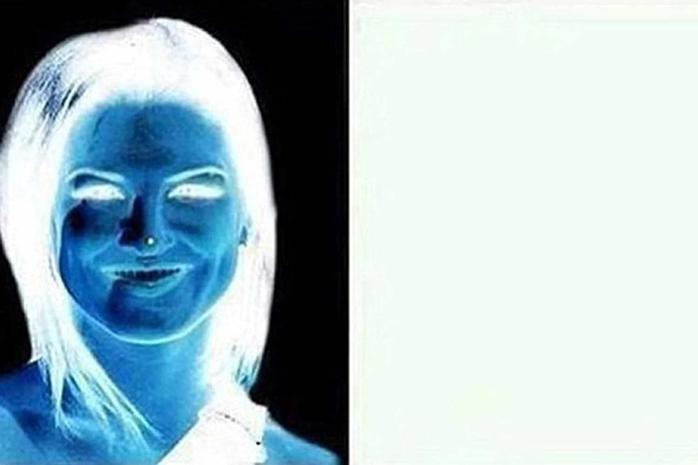 Woman Guillotine Magic Illusion