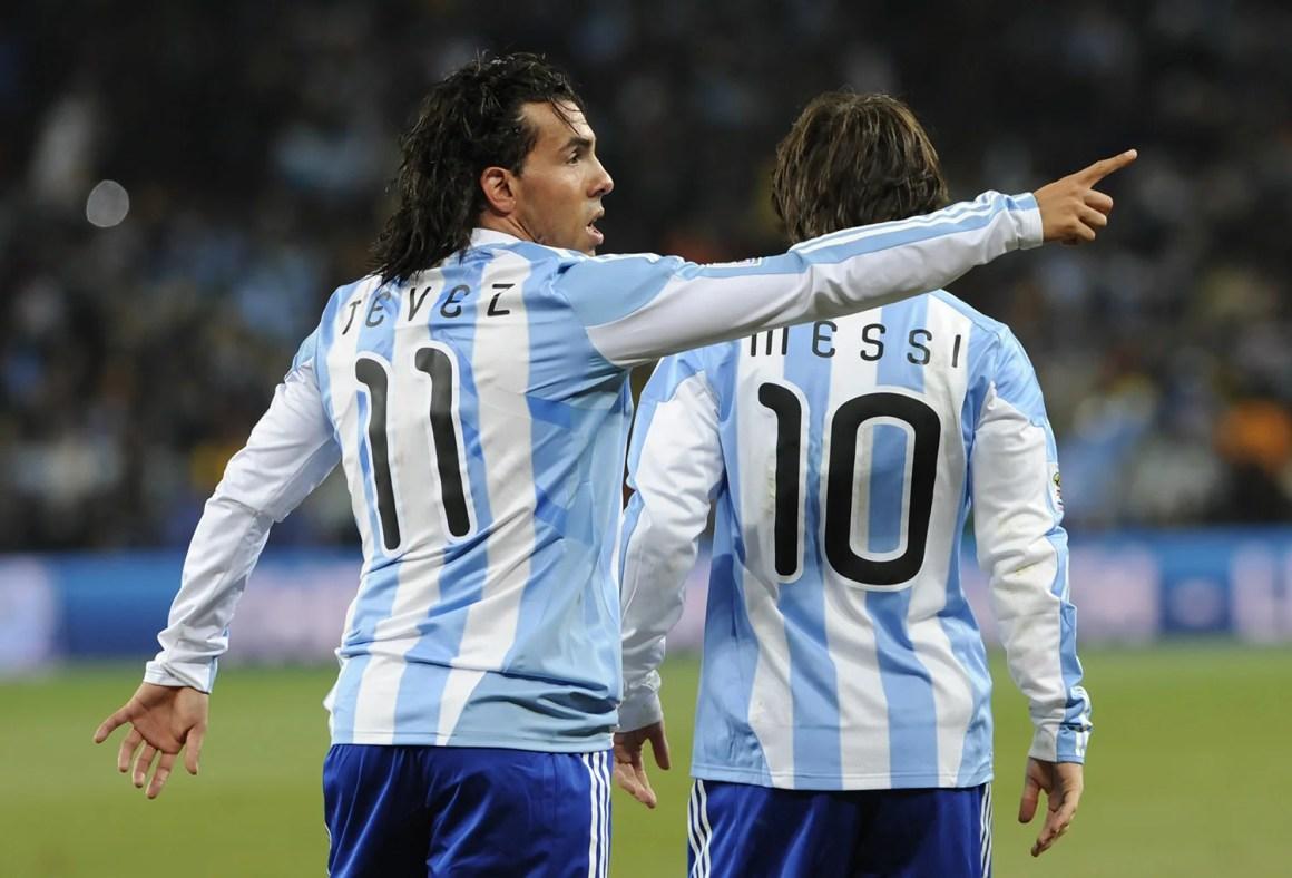 Kết quả hình ảnh cho tevez argentina