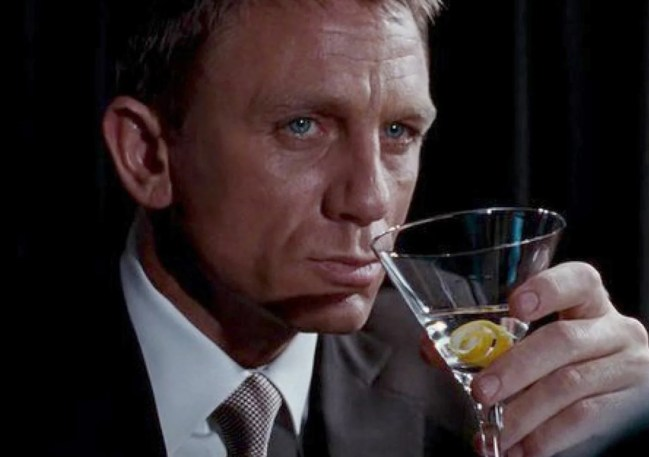 Image result for bond martini