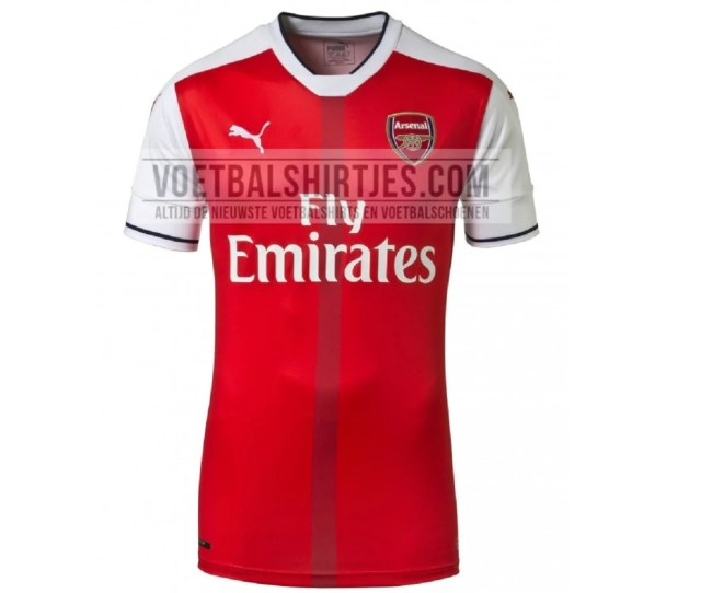 Is This The New Arsenal Kit New Leaked Image Of Home Shirt Emerges Ahead Of The 2016 17 Season