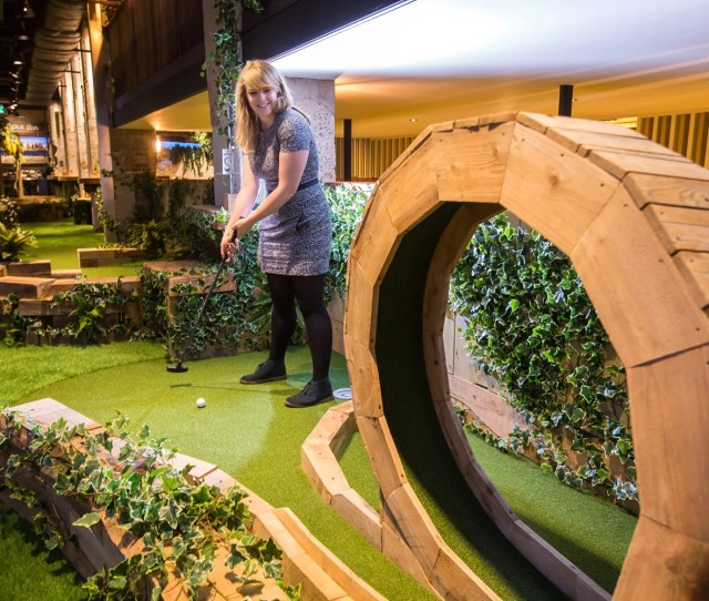 Swingers Hope To Open Second Crazy Golf And Cocktails Outpost In Old Bhs On Oxford Street