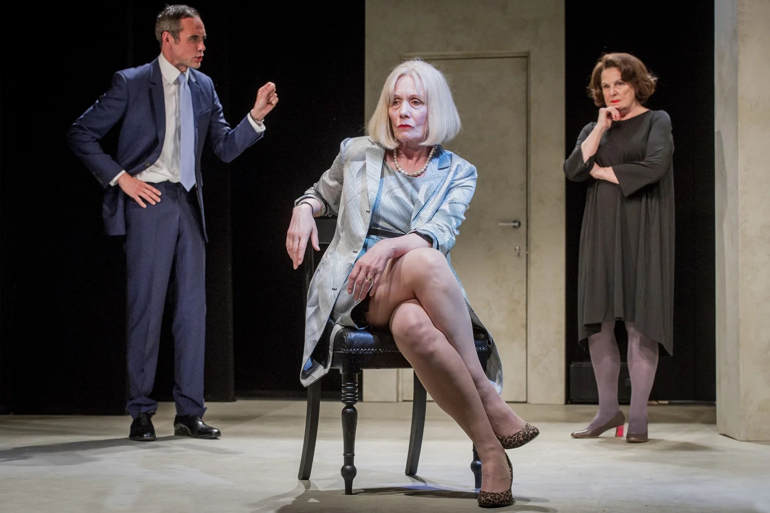 A View From Islington North Theatre Review A Satire That