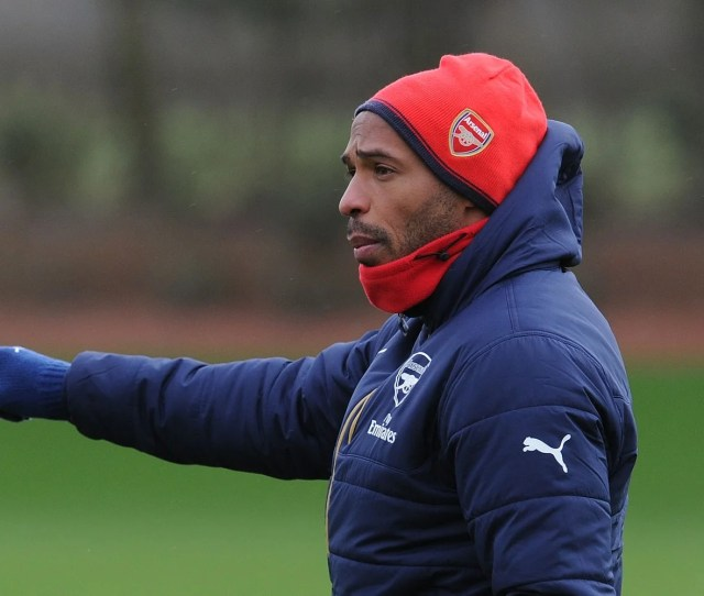 Thierry Henry At Arsenal