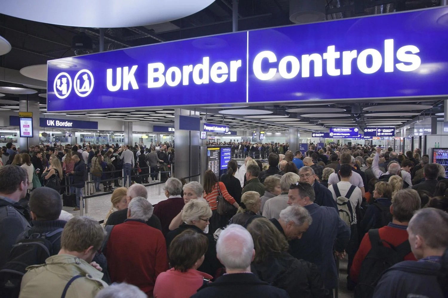 Heathrow Airport Hit By Monster Queues Amid Border Staff
