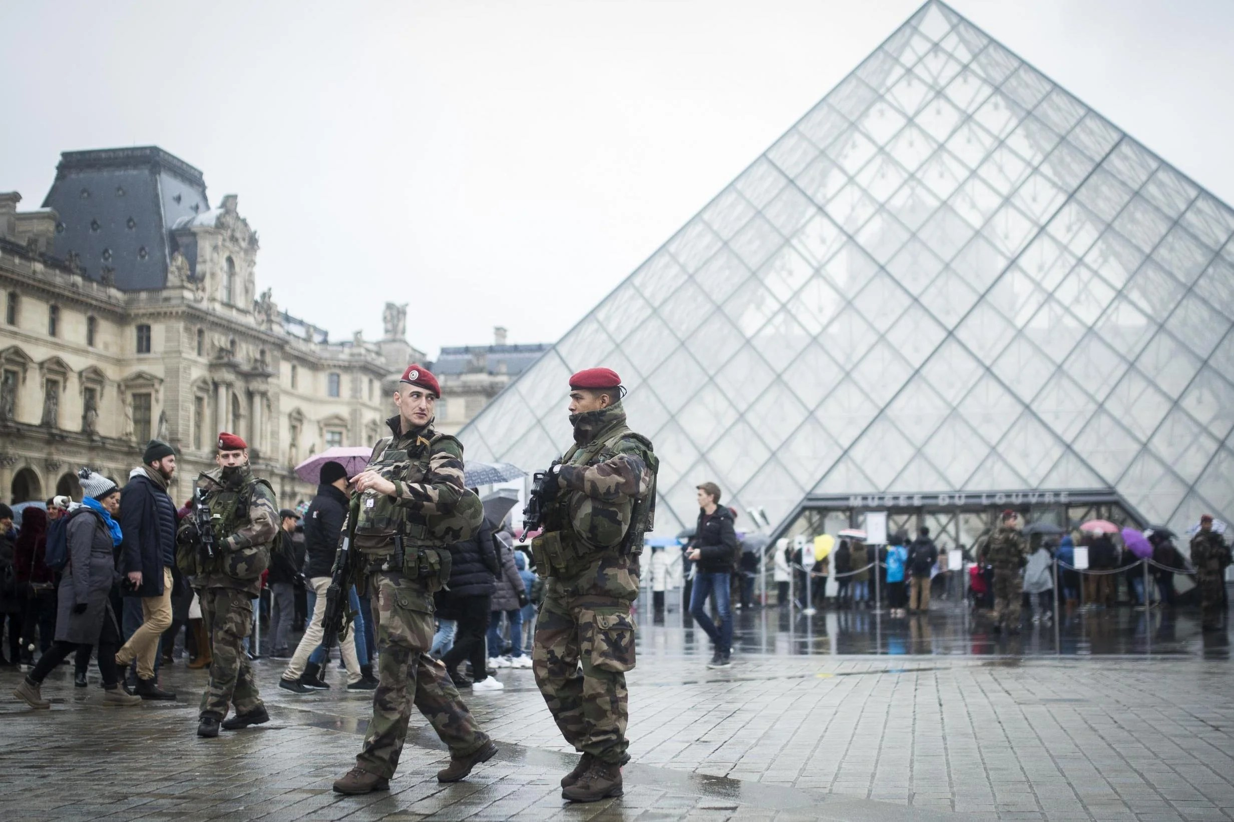 Louvre Attacker Who Pledged Support To Isis Minutes Before Assault Named London Evening Standard