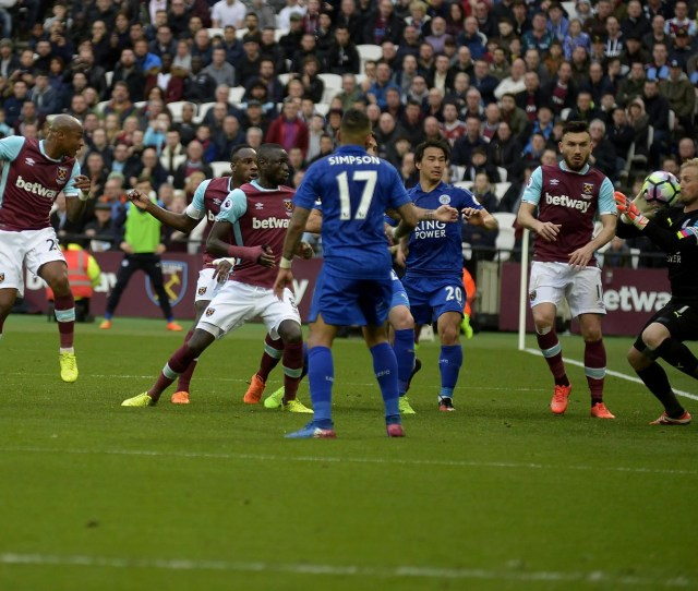 In Pictures West Ham Vs Leicester City