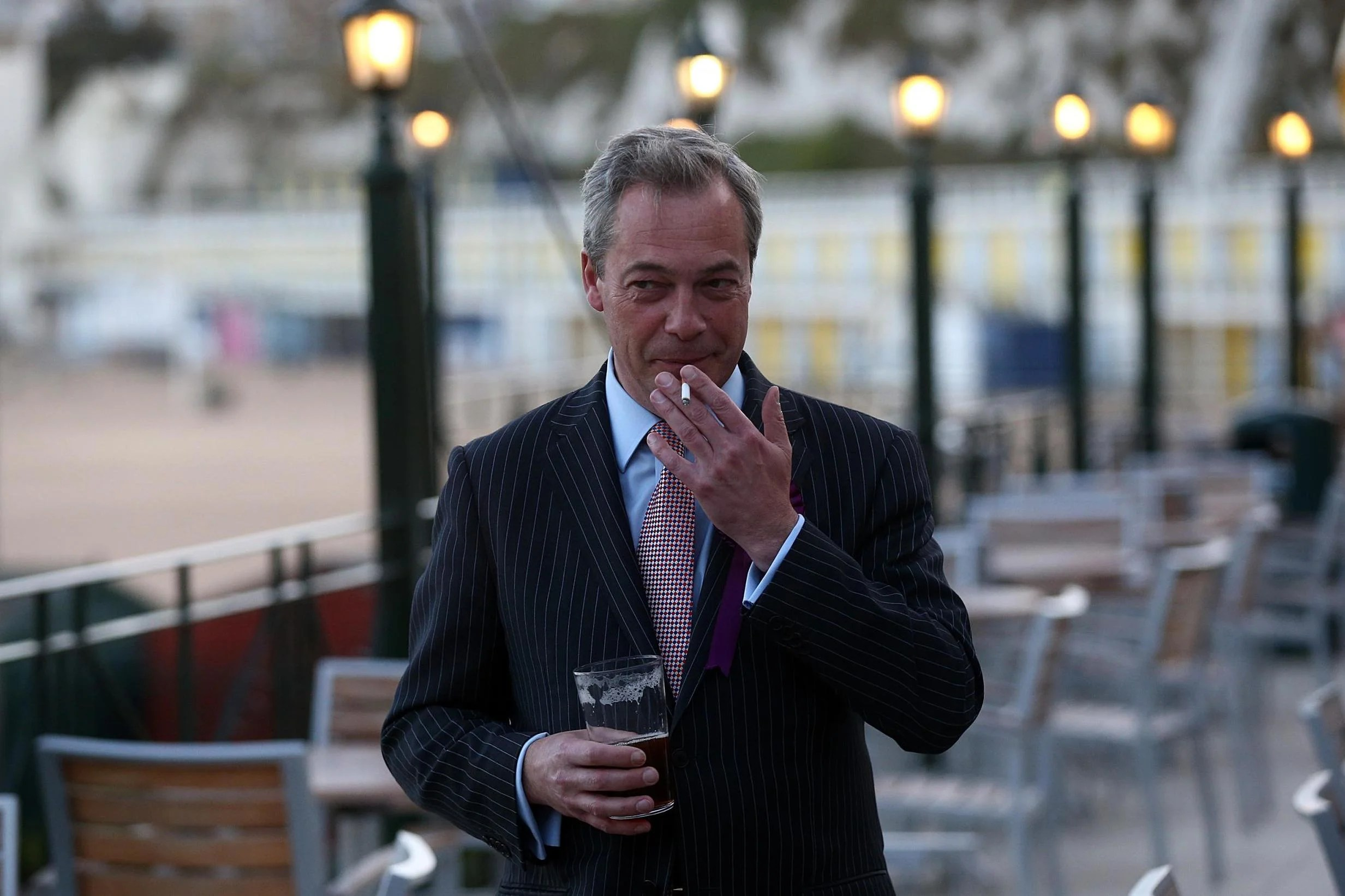 Nigel Farage Mocked For Blasting World Health Experts As Bullies Over Smoking Warning And Did He Inadvertently Take A Swipe At The Pope London Evening Standard