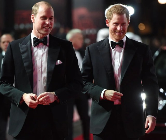 The Duke Of Cambridge And Prince Harry