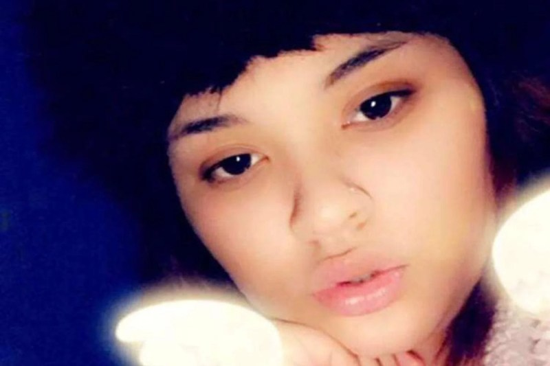 The girl, named locally as Tanesha, was shot dead in a suspected drive-by shooting while chatting with friends