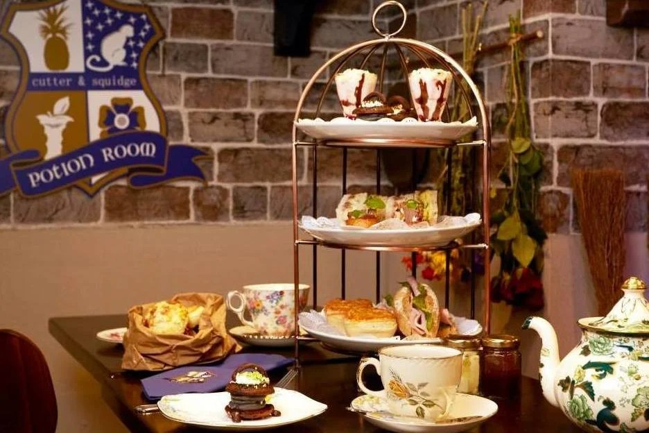 We Tried A Harry Potter Afternoon Tea In London London