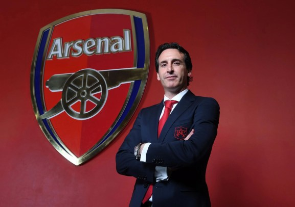 Image result for Unai Emery - Arsenal
