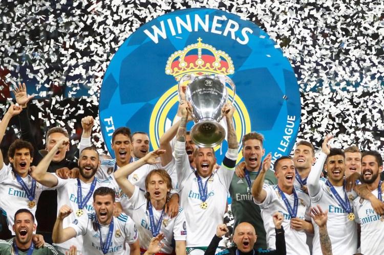 Real Madrid 3-1 Liverpool, Uefa Champions League Final ...