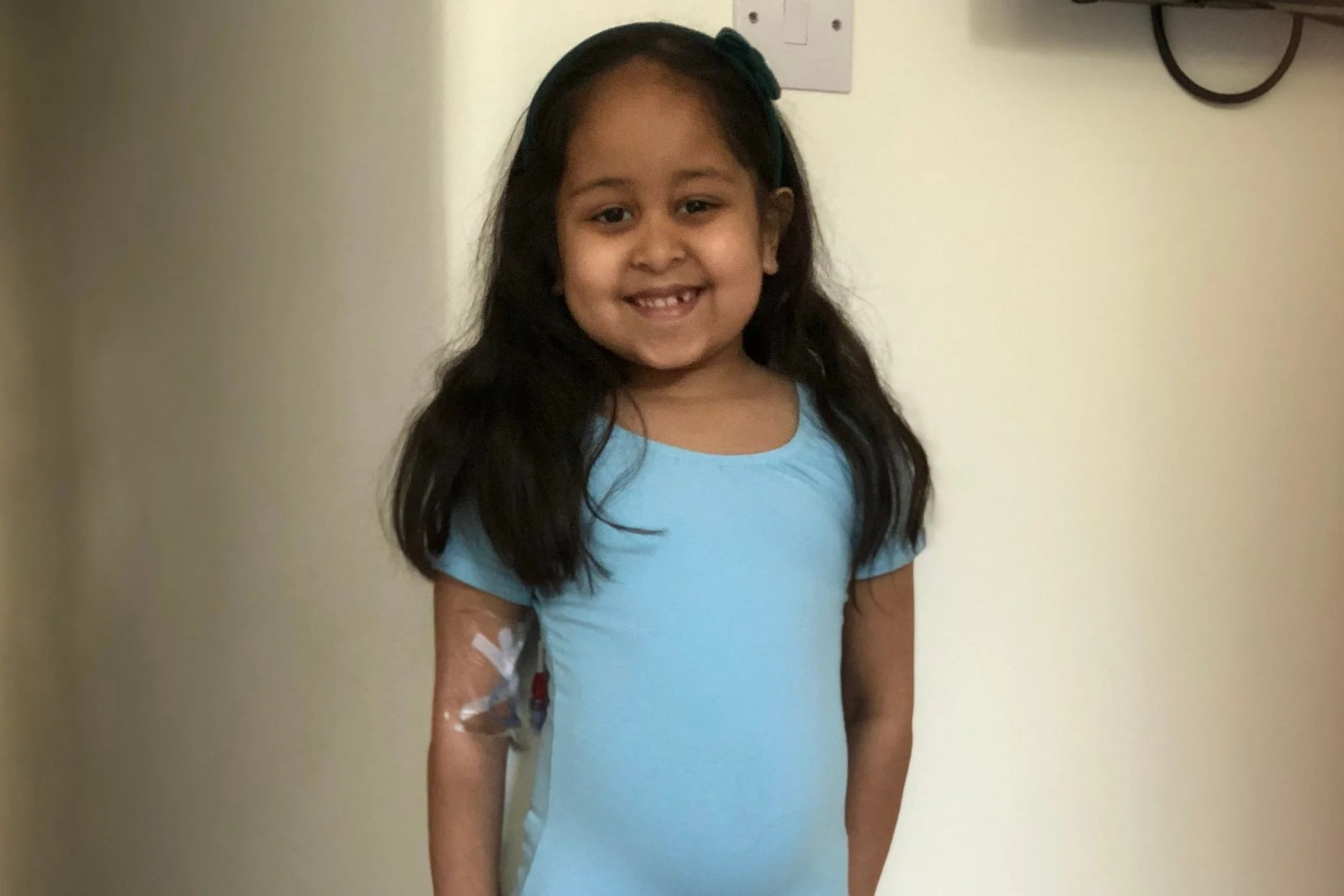 Mothers Plea To Stem Cell Donors To Save Five Year Old