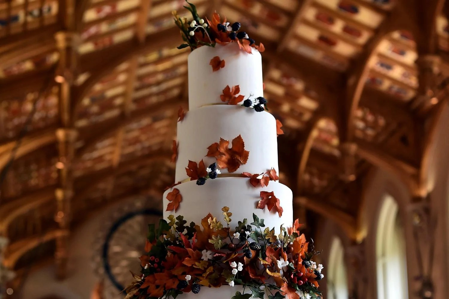 Princess Eugenies Wedding Cake Your First Look London