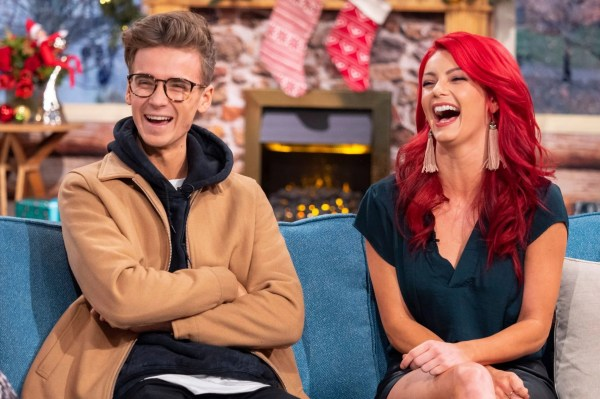 Strictly Come Dancing star Joe Sugg laughs as he refuses ...