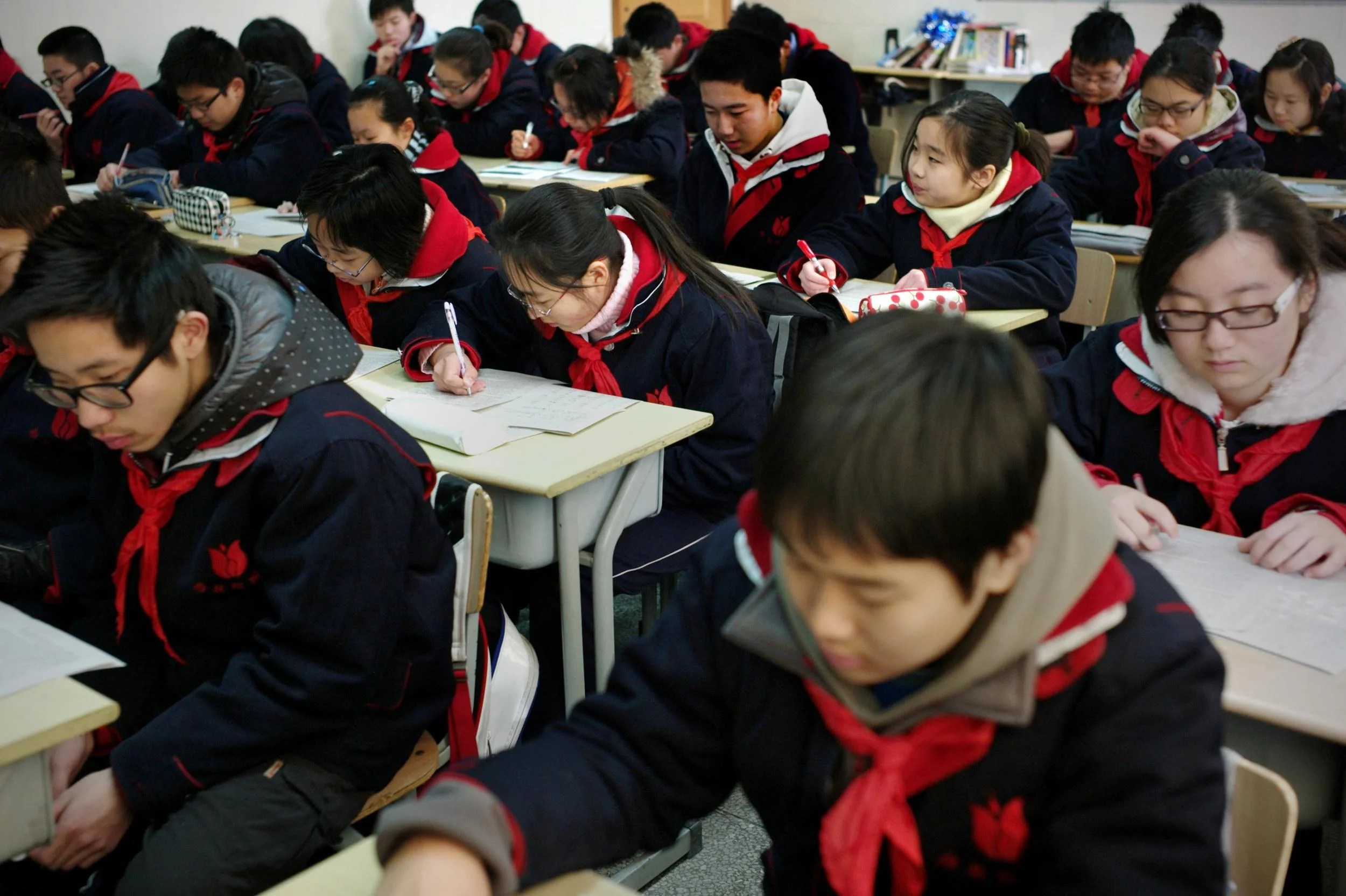 Schools In China Introduce Smart Uniforms With Gps Chips