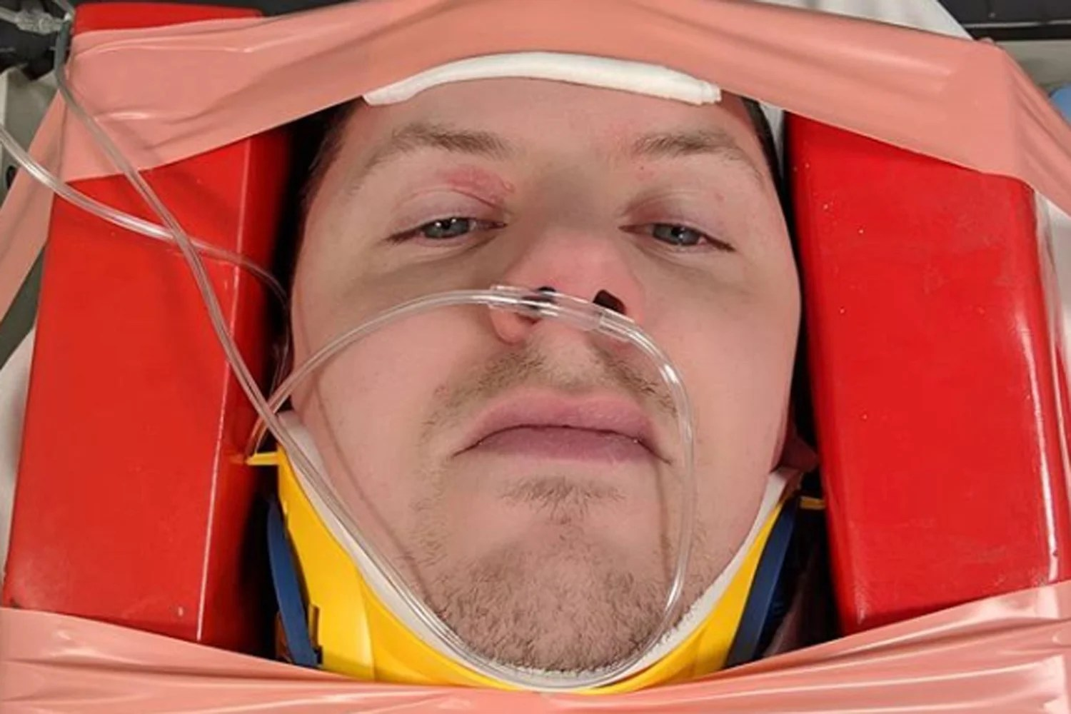 progreen1a Professor Green cancels tour after fracturing vertebrae in his neck